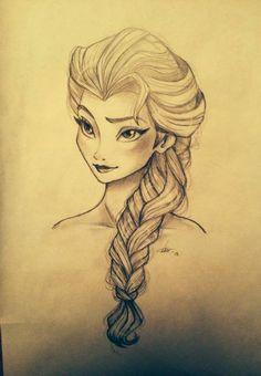 Frozen - Elsa by Fasli