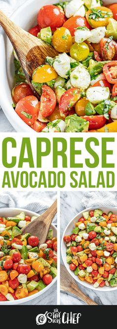 New Recipes, Salad Recipes, Cooking Recipes, Favorite Recipes, Healthy Recipes, Avocado Recipes, Detox Recipes, Queso Frito, Clean Eating