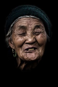 The smile of a life by André Alessio