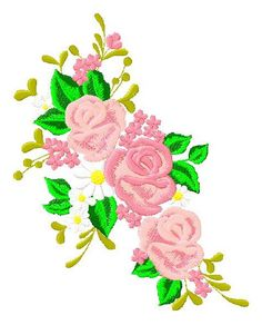 Floral Embroidery Design 157