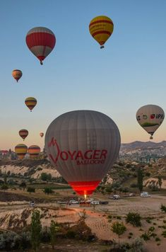 Sunrise Hot Air Balloon Flight - Cappadocia, Turkey