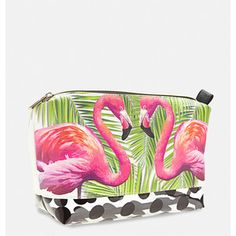 Avenue Tropical Pyramid Cosmetic Bag