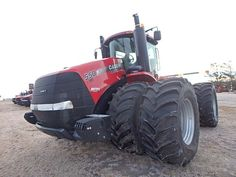This one our soon to be new tractors. Case IH 550 HD Steiger.