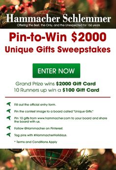A contest I would love to win!#HammacherHolidays