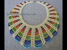 The Beading Gem's Journal: Easy Rainbow Beaded Necklace Tutorial