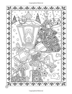 Printable Xmas Coloring Page - Holiday Xmas Light - Christmas Treats Holiday Coloring Book - Adult Coloring Page Star Coloring Pages, Christmas Coloring Pages, Printable Coloring Pages, Adult Coloring Pages, Coloring Sheets, Coloring Books, Plastic Canvas Ornaments, Xmas Lights, Color Me Beautiful