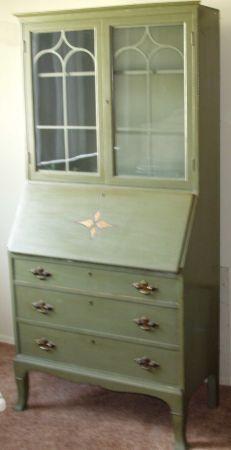 1000 Images About Antique Secretary Ideas On Pinterest