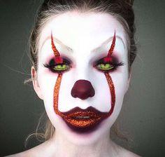 Make up da pagliaccio 'It' per Halloween - Labbra glitter per il tuo make up stile Pennywise