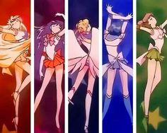 Sailor Moon Inner Senshi (Sailor Stars/Season 5 Opening )