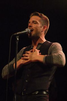 Brandon Flowers. Lead singer of one of my favourite bands; The Killers