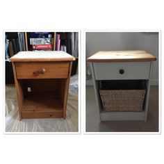 Upcycled bedside table                                                                                                                                                                                 More