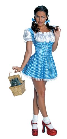 The Wizard Of Oz Sexy Dorothy Sequin Dress Costume Adult  sc 1 st  Pinterest & Adult Naughty Nerd Costume - Party City | Costume ideas | Pinterest ...