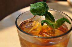 Basil Sweet Tea - Cinnabar at Hyatt Regency Crystal City #sweettea