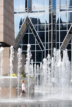 The Water Feature at PPG Place