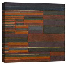 Paul Klee In the Current Six Thresholds Stampa su tela Canvas effetto dipinto Wallpaper Warehouse, Paul Klee, Canvas, Ebay, Tela, Canvases