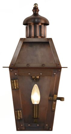 CS-AC Arcadia Flush Lantern Arcadia Gas or Electric Copper Flush Lantern CollectionThe CopperSmith Outside Lanterns, Gas Lanterns, Copper Lantern, Dauphin Island, Possible Combinations, Grand Lake, Copper Lighting, Gas And Electric, Antique Copper