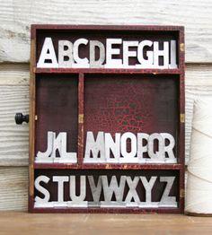 Lo quiero! Custom Vintage Aluminum Letters