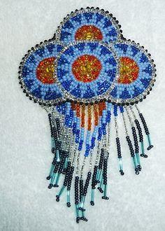 Hand Made Native American Beautiful Beaded Hair Barrette New | eBay