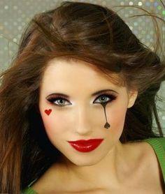 Herzdame Make-up