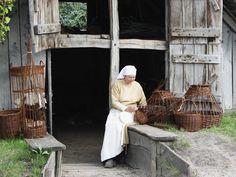Medieval willow basketmaker   Flickr - Photo Sharing!