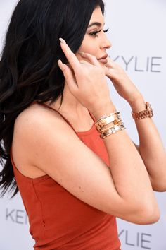 What Will Break the Internet First: This #Cartier Bracelet or #KylieJenner? Of Course Kylie Jenner's Stacking the Most-Searched-For #Jewelry Item on Her Wrist