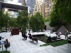 MOMA, Sculpture Garden by Michael Stoll, via Flickr