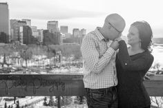 Crescent Heights Engagement - Calgary Engagement Photographer | Paisley Photography- City engagement Photography, Cityscape Engagement Photography, urban Engagement Photography