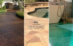 All of Concrete Craft's flooring options add beauty and value to your home or business.
