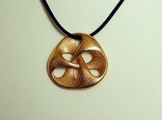 3D printed pendant III by MindEversion on shapeways.com