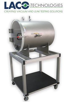 """LACO's Stainless Steel Horizontal HI Vacuum Chamber can easily be customized for your application needs. Our 24"""" diameter x 30"""" long vacuum chamber includes 3 standard ports: 3/4"""" Inlet port, 1/4"""" Gauge port with 0-30 inHg vacuum gauge, and 3/4"""" vent port with manual valve.  http://www.lacotech.com/vacuumchambers/stainlesssteelfrontloadingcylindricalchambers/stainlesssteelfrontloadingcylindricalchambers+horizontalindustrialvacuumchambers+lvc2430-3112-hi.aspx"""