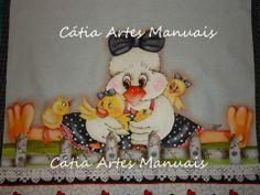 Catia Artes Manuais: PASSO A PASSO PINTURA COM PATCHCOLAGEM BICHINHOS COUNTRY
