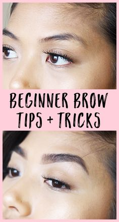 Transform your sucky, patchy-looking brows with these easy beginner brow tips! Full, clean looking brows aren't as hard as you think!