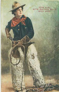 Lulu Belle Parr From Buffalo Bill's Wild West Show