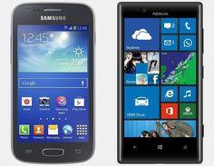 Vergelijking Samsung Galaxy Ace 3 vs Nokia Lumia 720 | Versus OS