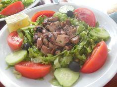 #Octopus salad #Croatia