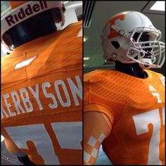 Tennessee unveils new uniforms with state outline patch for 2013