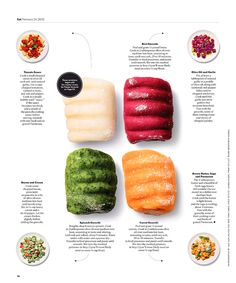 new york times magazine food Editorial Design Layouts, Graphic Design Layouts, Food Magazine Layout, Magazine Layout Design, Food Design, Design Ideas, Cookbook Design, Magazine Spreads, Newspaper Design