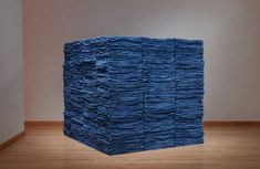 """Eva Hesse (1936–1970). Accession II, 1967 """"Color is whatever comes out of the material and keeps it..."""