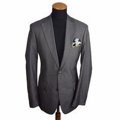 Hugo BOSS Pasini1/Movie1 Men's Wool Blazer 38L (94 DE) Slim fit. Cloth: 60% wool 40% silk. Single breasted 2 buttons Blazer, double vented. | eBay!