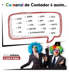 #CARNAVAL #CONTABILIDADE #CONTADOR