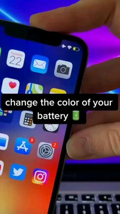 How to Change the Color of Battery icon on Your iPhone