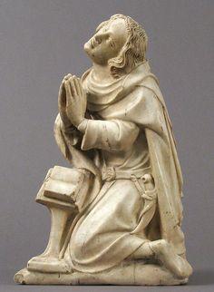 Saint Elzéar, ок. 1370–73 Франция, алебастр.