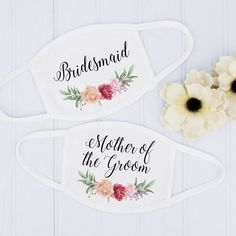 These floral bridesmaid wedding masks are one of our WeddingWire editors' top picks. Click for more wedding mask ideas. Planning your wedding has never been so easy (or fun!)! WeddingWire has tons of wedding ideas, advice, wedding themes, inspiration, wedding photos and more. {Etsy}