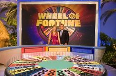 Wheel of Fortune! The first half of my 7:00pm hour.