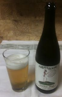 Namaste from Dogfish Head Craft Brewed Ales