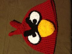Funny crocheted beanie