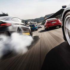 Wolfpack #mercedes #c63g #audi #rres #bmw #m2 #lovecars 📷@topgear #speed #car #exoticcars #exoticcar #engine