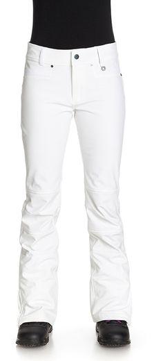Roxy Creek Women's Snowboard / Ski Pants, M, Bright White