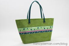 Ribbon City Bag | Nancy Zieman | Renaissance Ribbons
