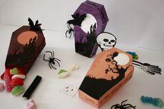 #Diy faire des ~#boîtes de #bonbons en forme de #cercueil